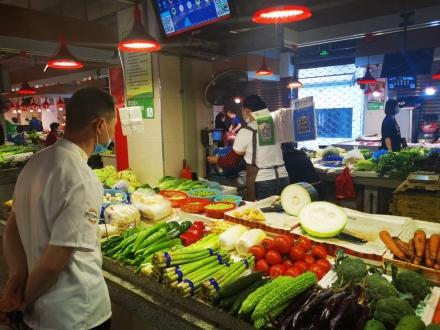 水头溪心菜市场(浙江 温州)